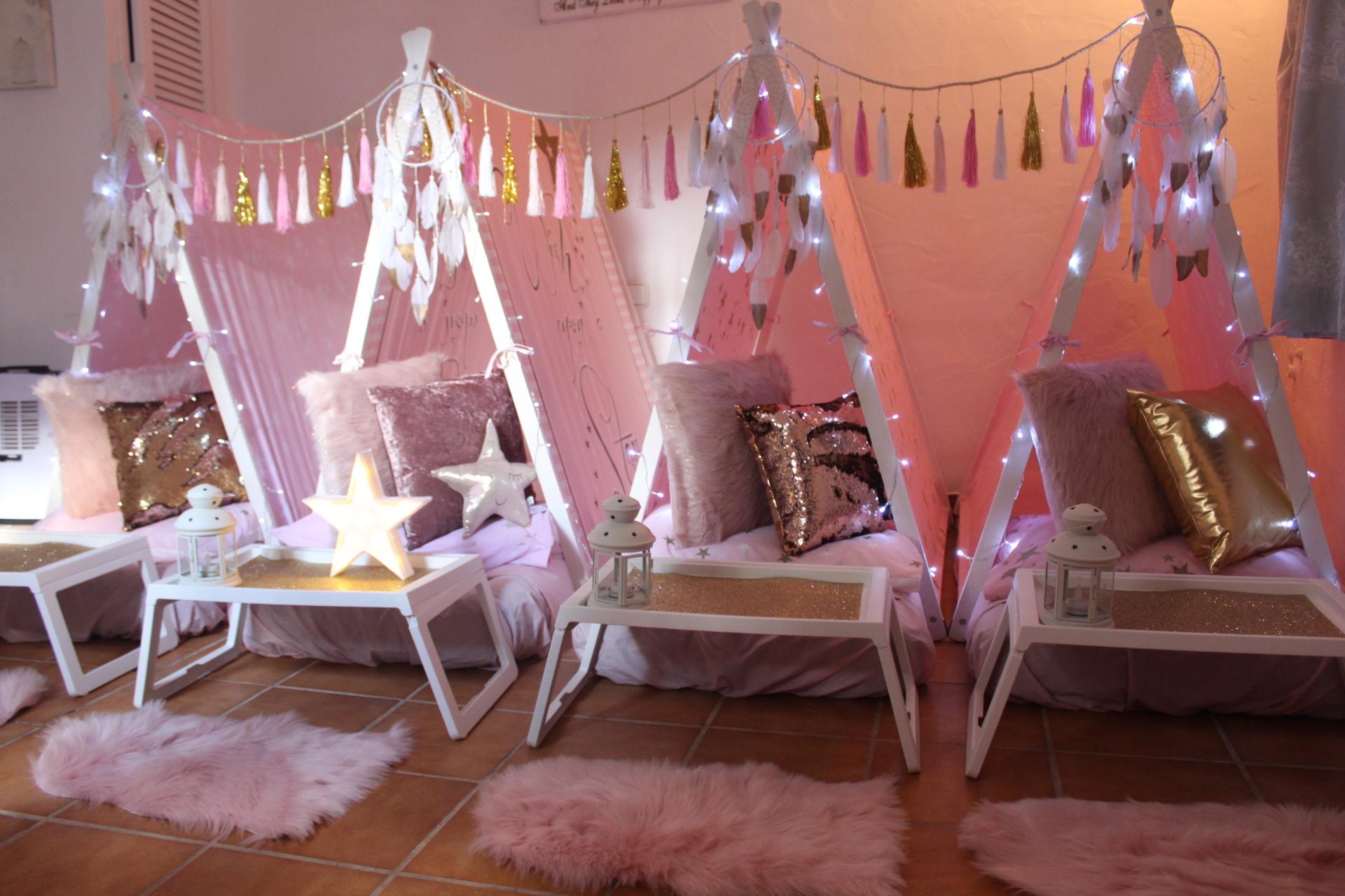 Elegant & stylish - Teepee Slumber Party | Sleepover party in Ibiza