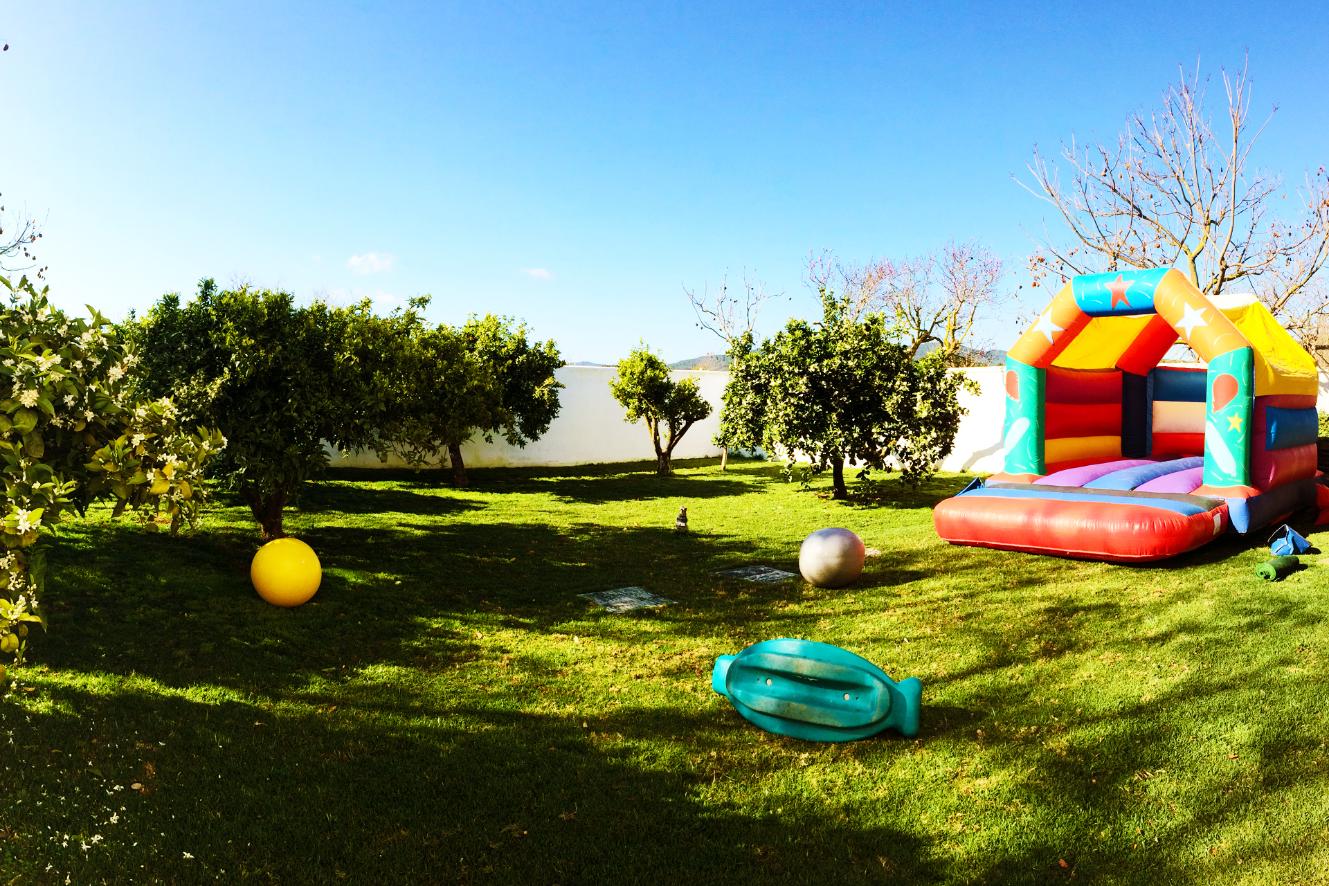 Party Time Bouncy Castle - Perfect for all ages - Fairytale Ibiza, kids parties in Ibiza