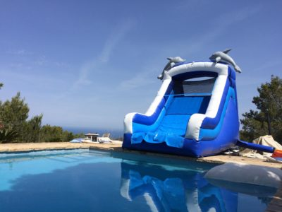 Inflatable water slides by Fairytale Ibiza