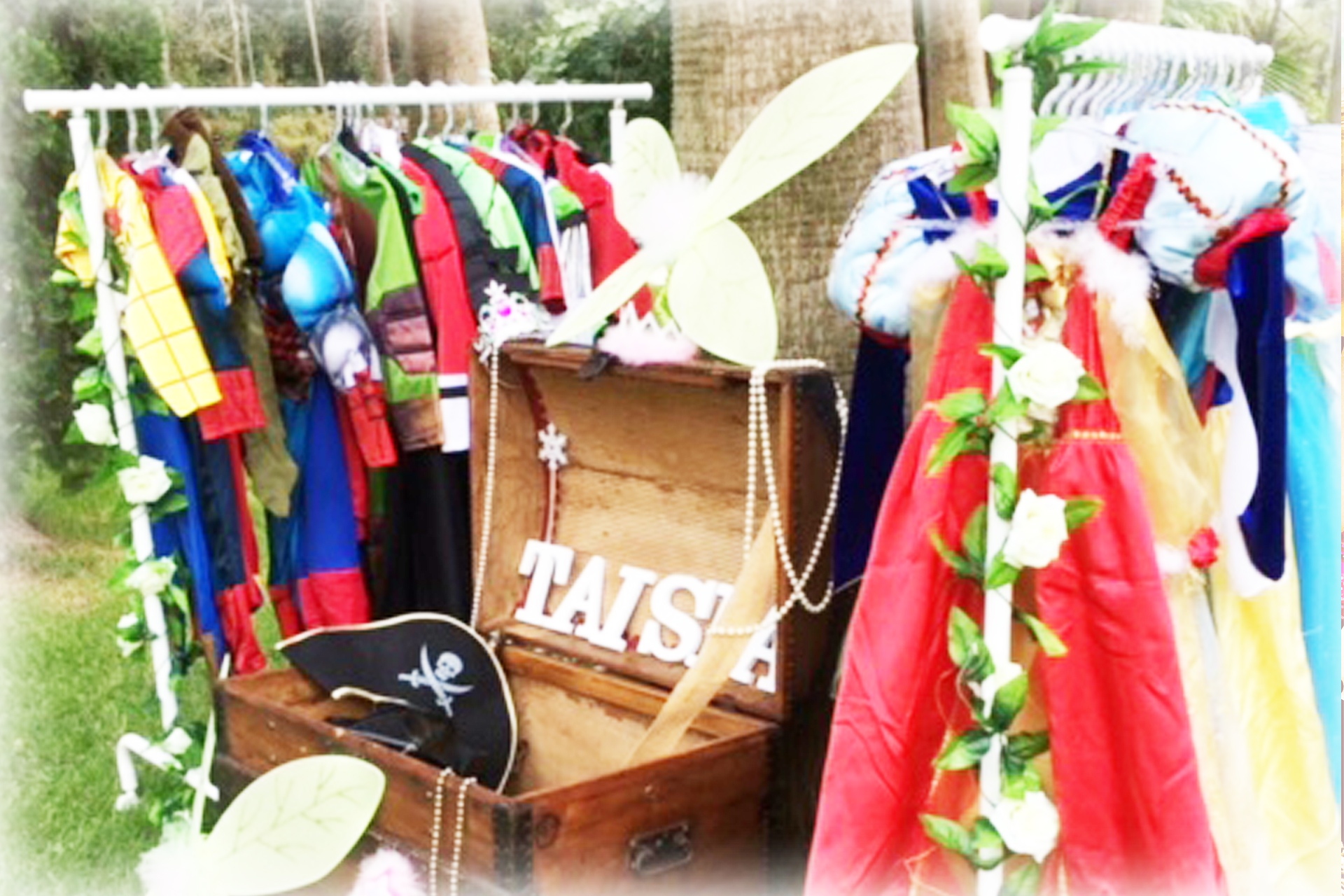Children's Dress Up Area - Fairytale Ibiza, childrens parties & events in Ibiza