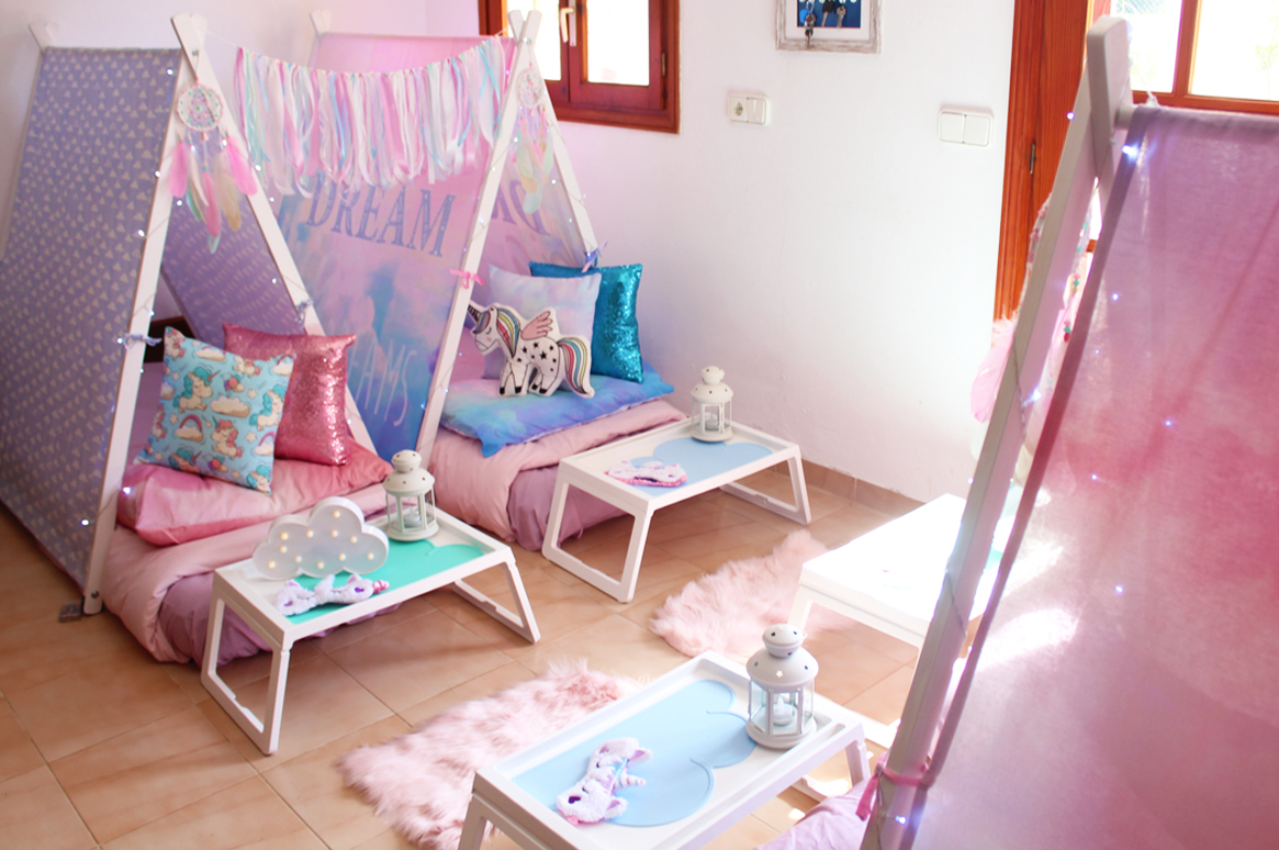 Teepee Slumber Party Ibiza - Unicorn theme #1