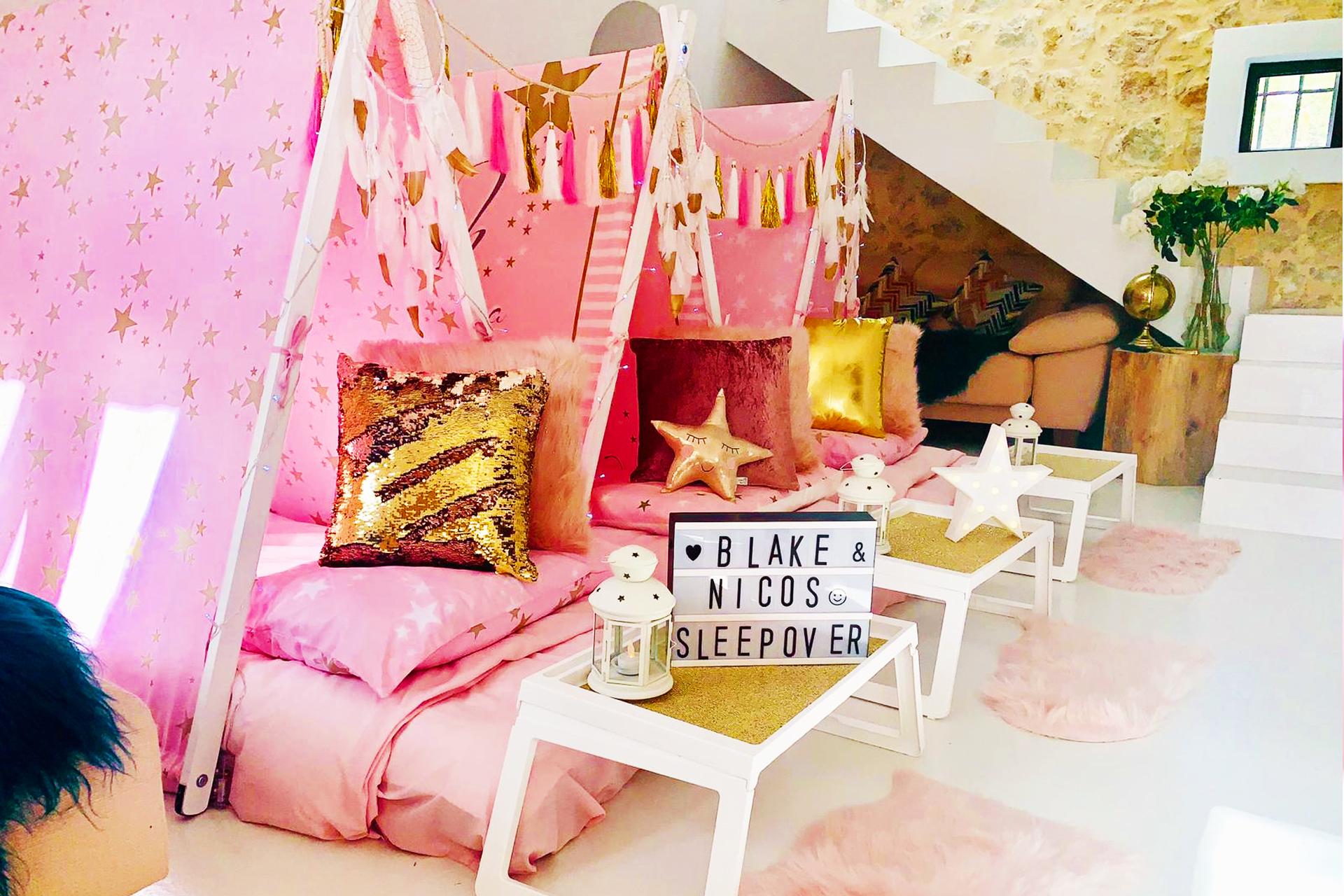 Fairytale Ibiza - Teepee Slumber Party in Ibiza - Wish Upon A Star theme