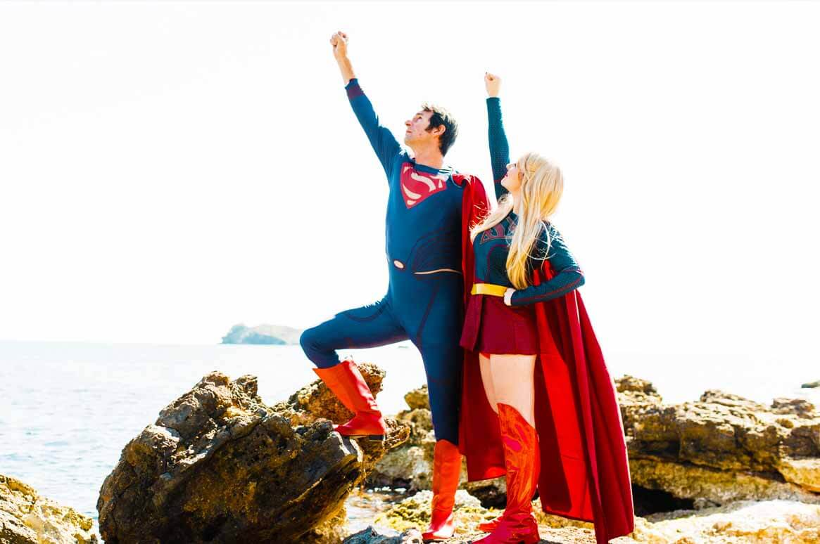 superman & supergirl our superheros