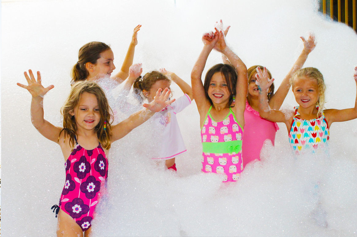 Foam Party | Foam Parties available exclusively from Fairytale Ibiza - Children's parties & events