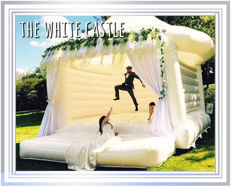The Tropical Plunge Inflatable Water Slide