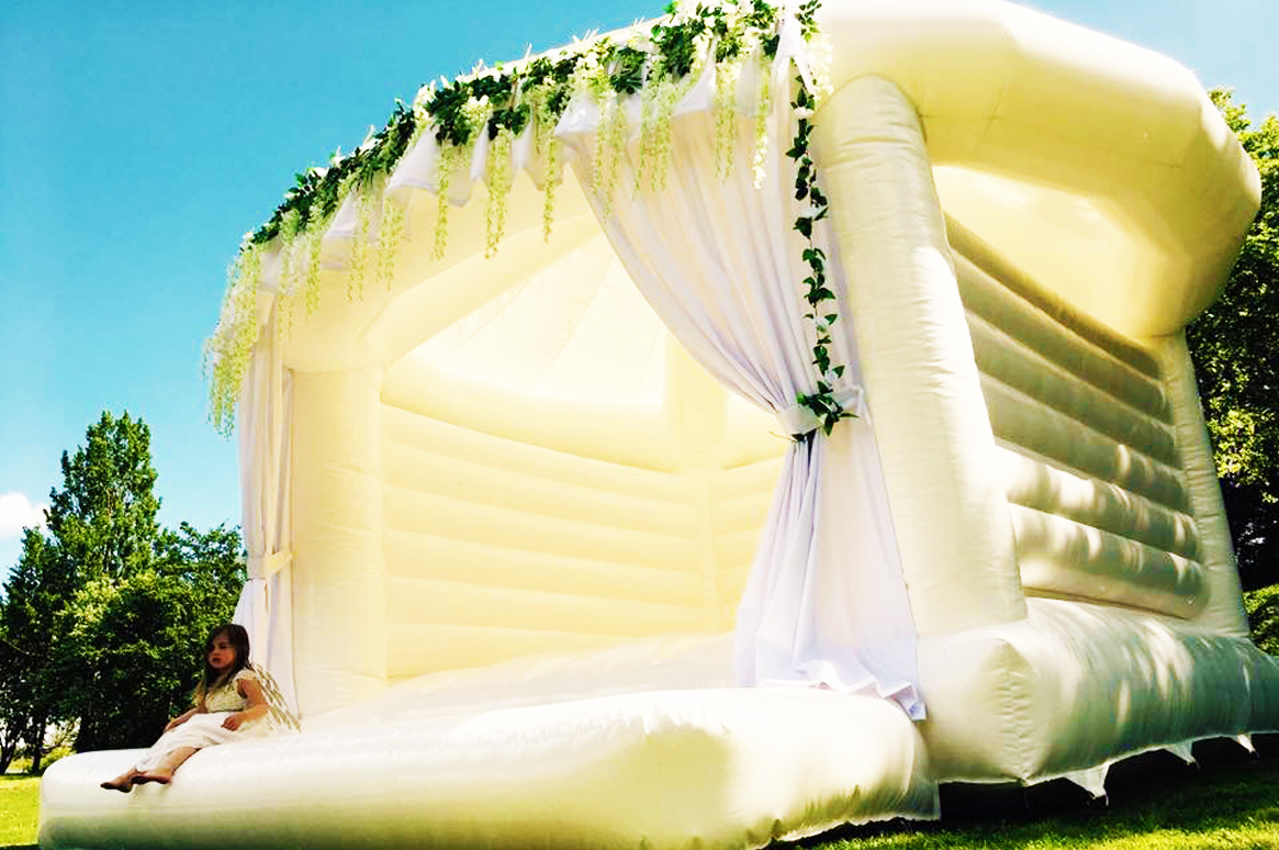 Ibiza's ONLY dedicated Wedding Bouncy Castle!