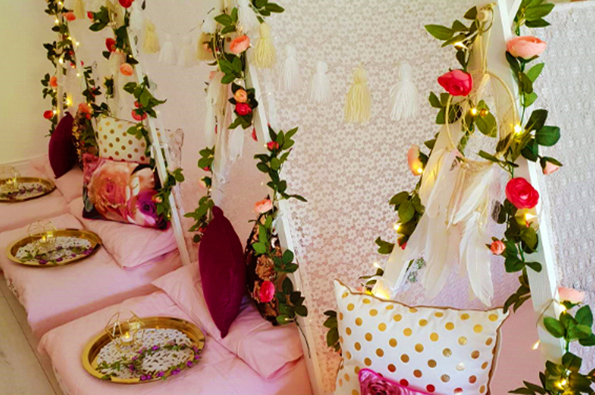 Boho Chic Teepee Slumber Party - Exclusively made by Fairytale Ibiza
