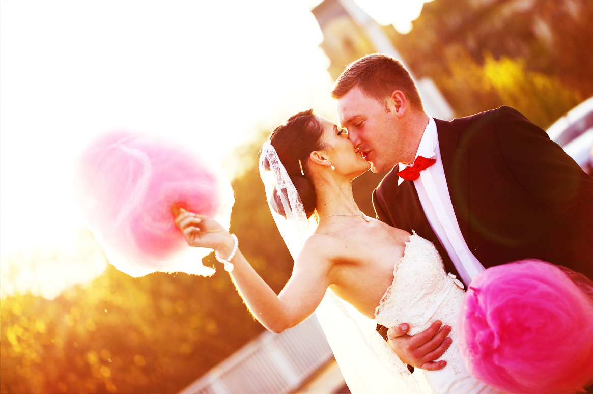 Fairytale Weddings in Ibiza - Wedding Candy Floss & Popcorn