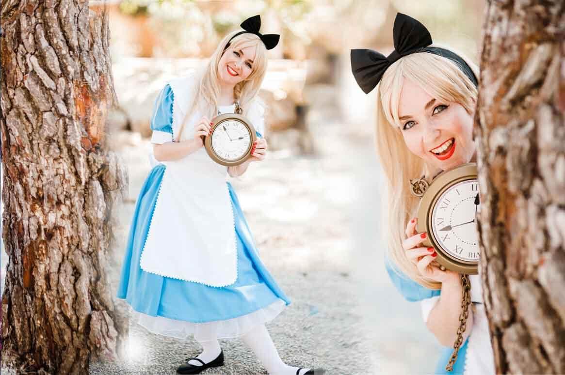 Alice in Wonderland princess party