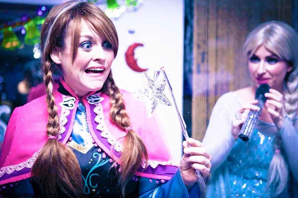 Anna, Frozen Princess Party