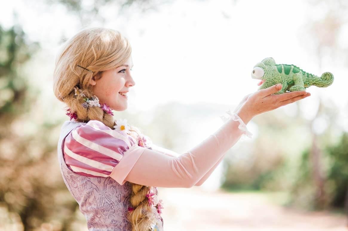 rapunzel princess and her frog