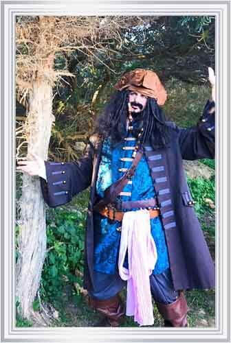 Jack Sparrow Kid's Party in Ibiza - Fairytale Ibiza - Children's Party & Events