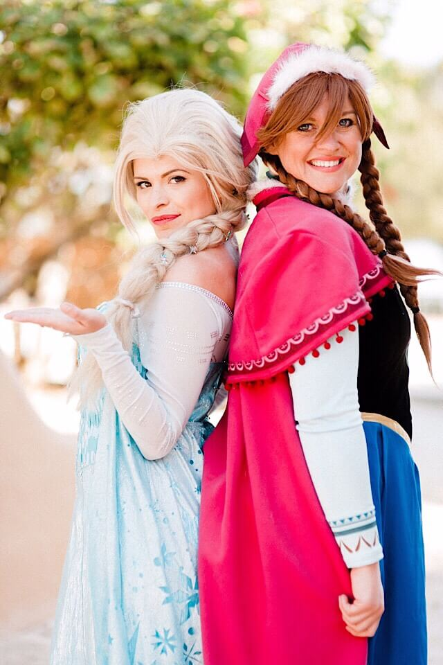 Anna & Elsa - Frozen themed Princess Party