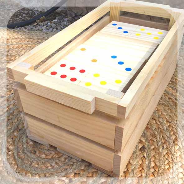 Dominoes - Giant Garden Games - Fairytale Ibiza