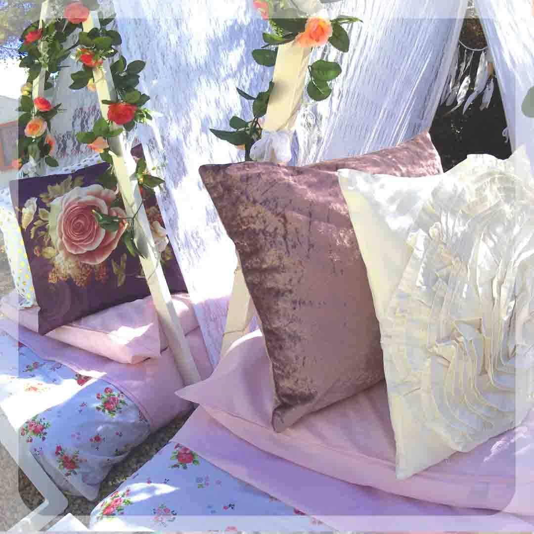 área de bodas para niños en Ibiza- children's area at weddings in Ibiza