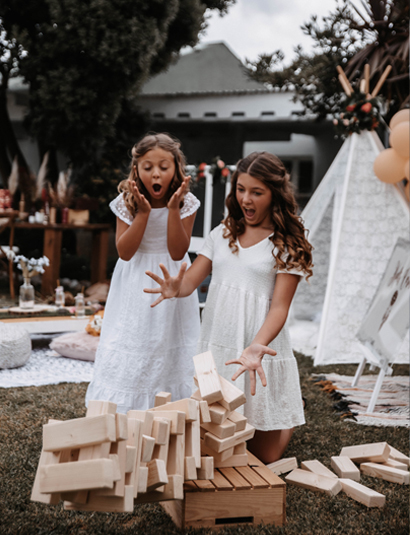 Giant Jenga / Wedding Games / Kids Corner Ibiza