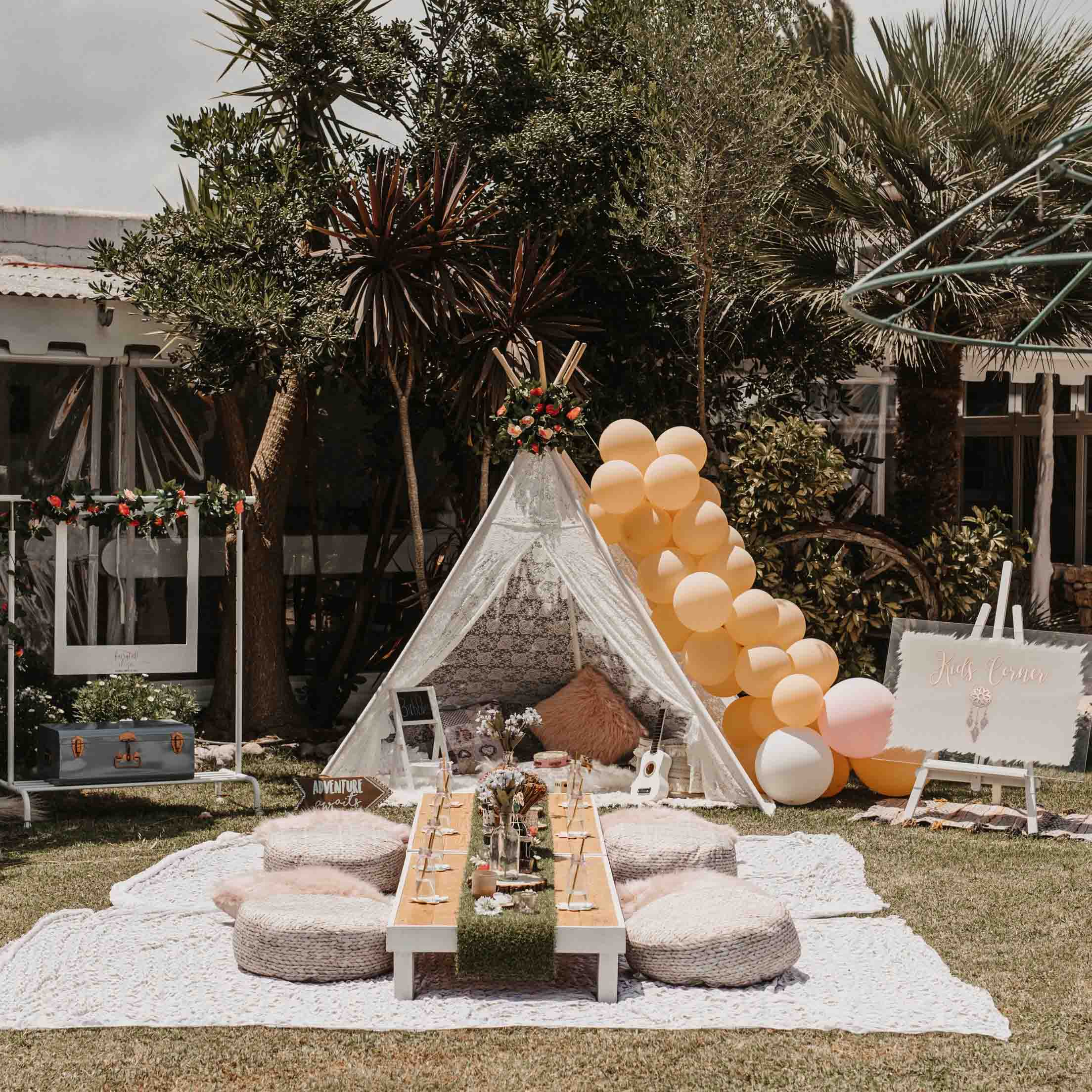 Wedding Kids Corner in Ibiza / Fairytale Ibiza