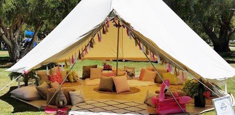 Bell Tent Fairytale Ibiza 4