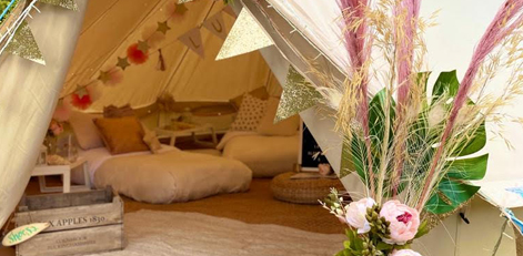 Bell Tent Fairytale Ibiza 1